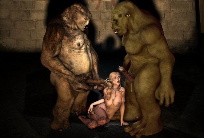Фото секс троли огры