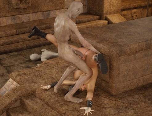 Forced nocturnal female orgasm