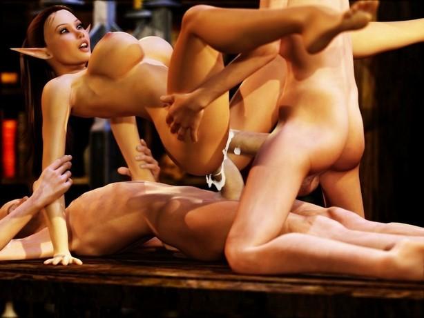 Порно фото 3d секс