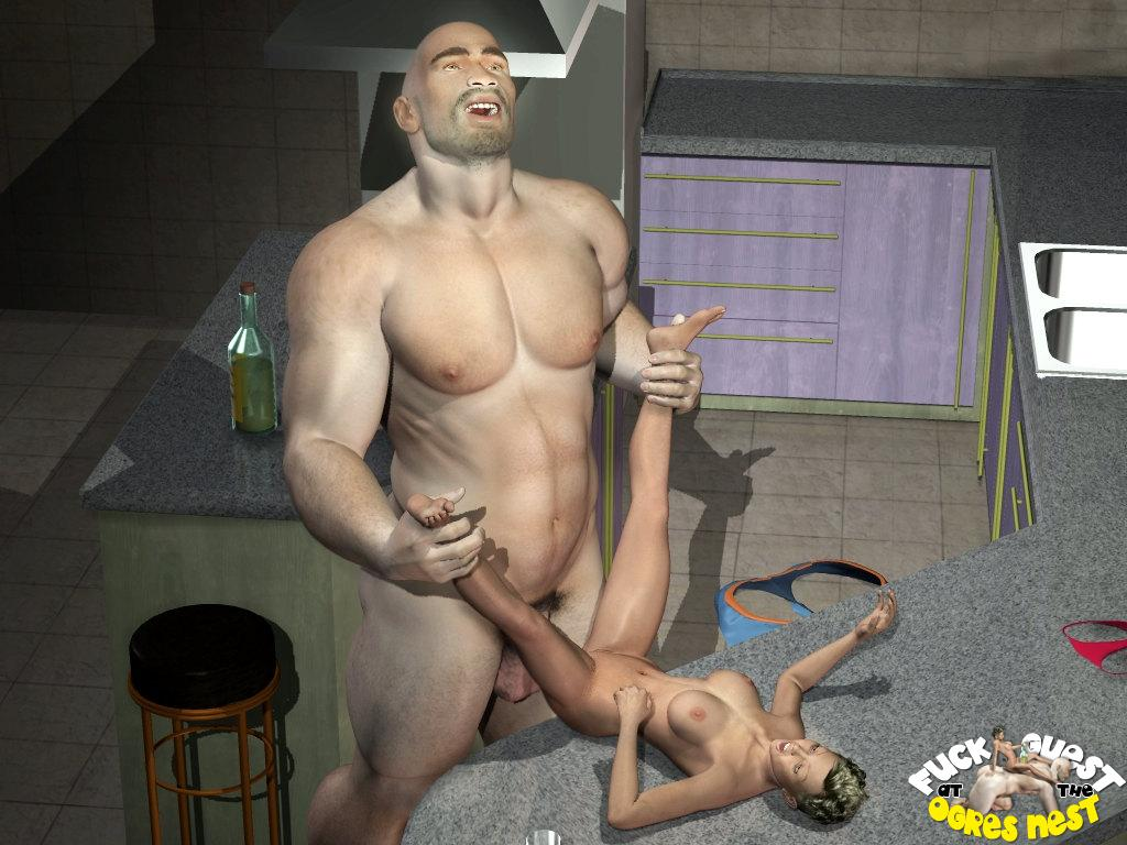 Cg goes for the gold in the pussy licking event Part 5 5