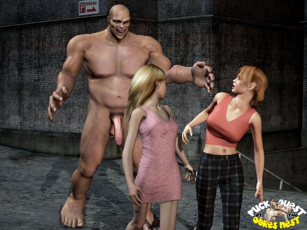 3d monster cock porn